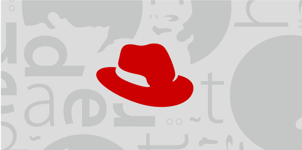 a cluster of elements from the Red Hat brand