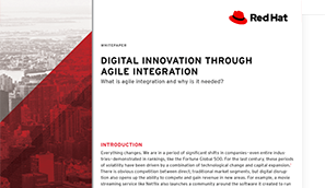 Digital innovation through agile integration e-book
