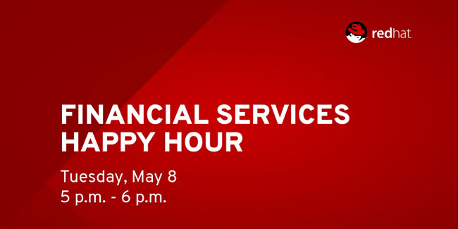 Financial services happy hour