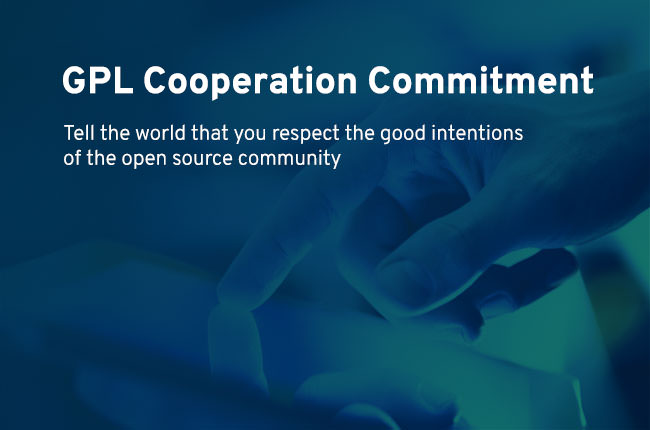 GPL Cooperation Commitment