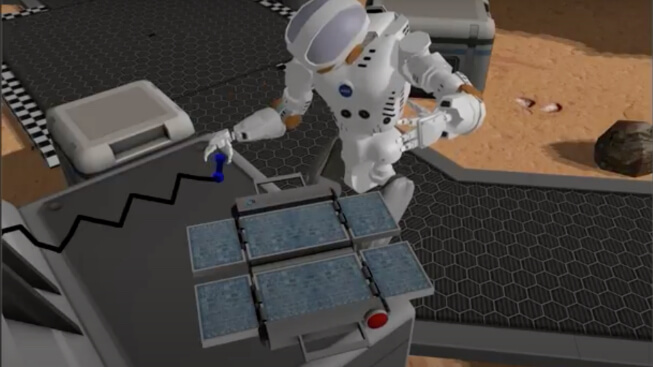 NASA Space Robotics Challenge Complete Run video poster image