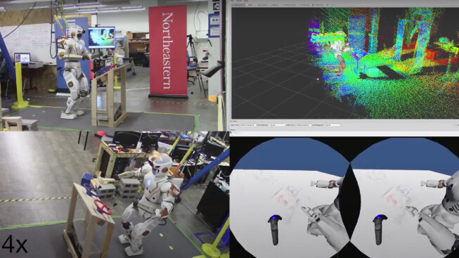 NASA Space Robotics Challenge Task 1 with Valkyrie video poster image