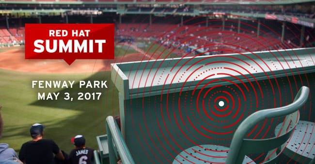 Summit party at Fenway Park