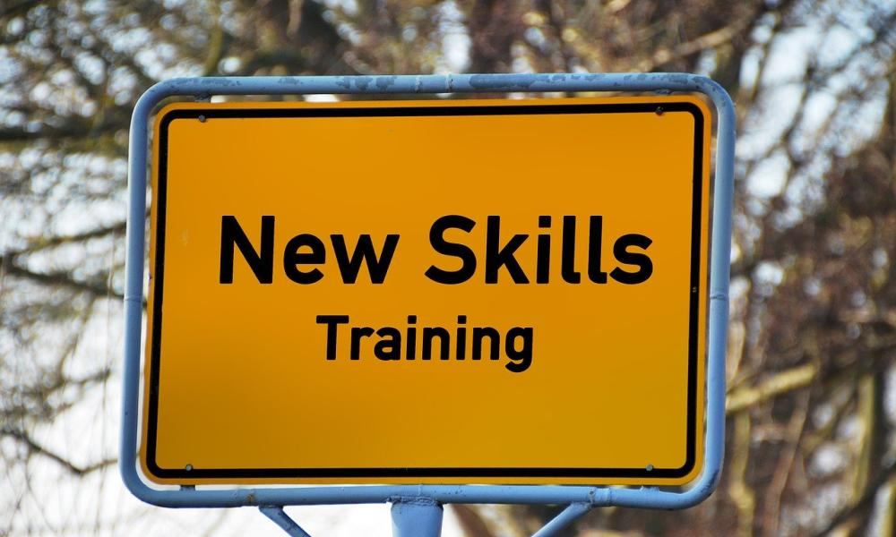 sign for new skills training